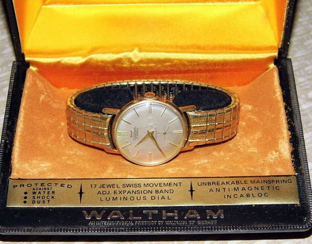 made in the usa waltham watch