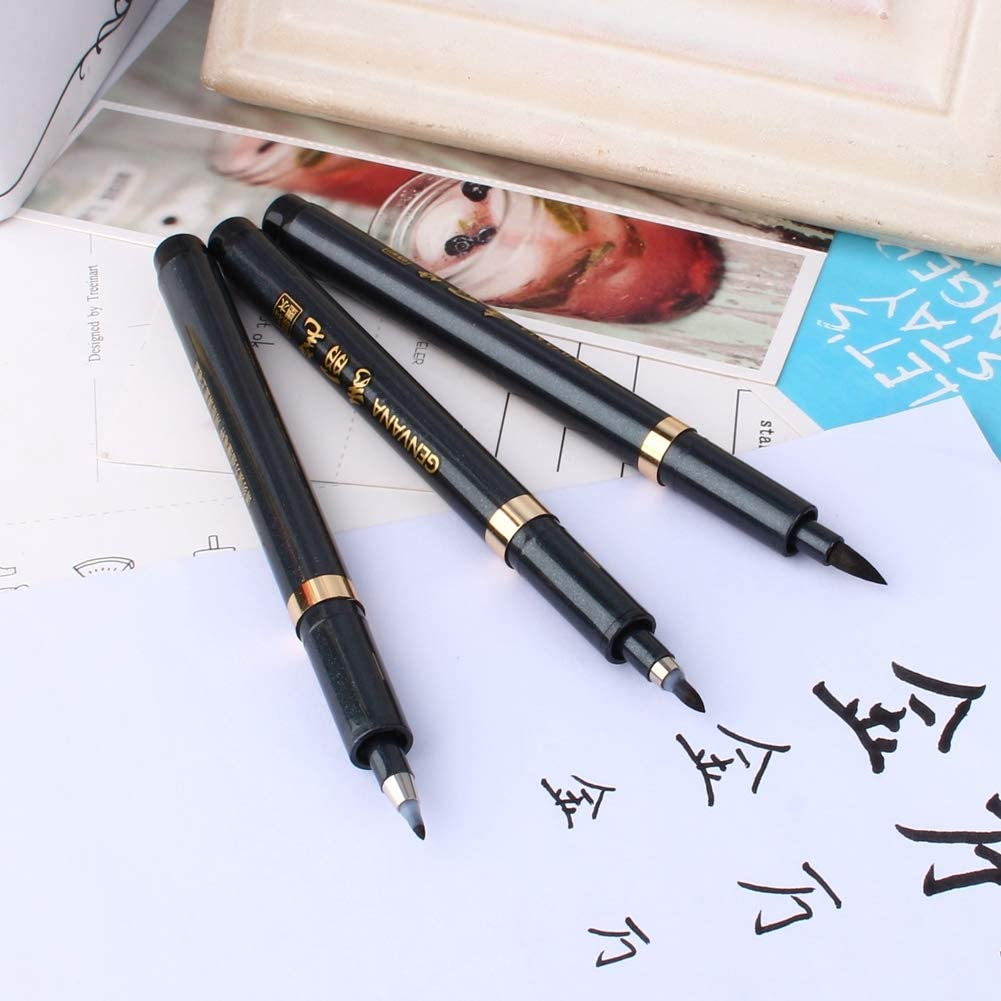 Japanese calligraphy markers